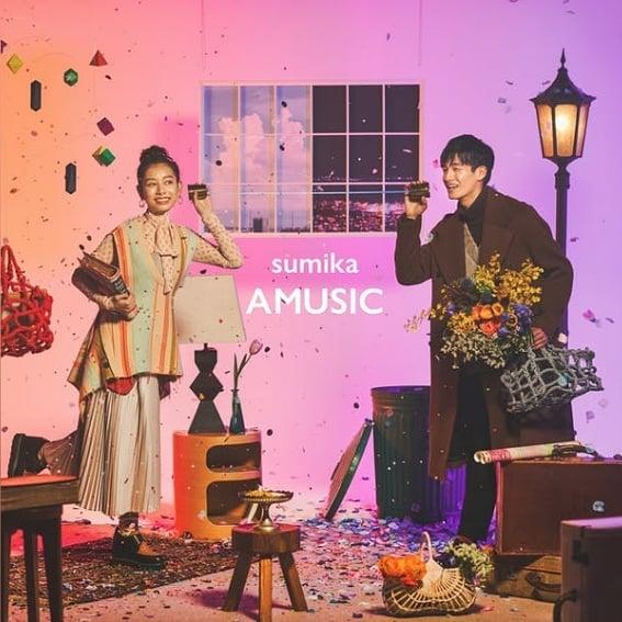 sumika 3rdフルアルバム「AMUSIC」ジャケット写真